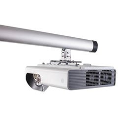 Bi-Silque Visual Communication Products WB0101001 96 in. Short Throw Projector & Mounting Arm