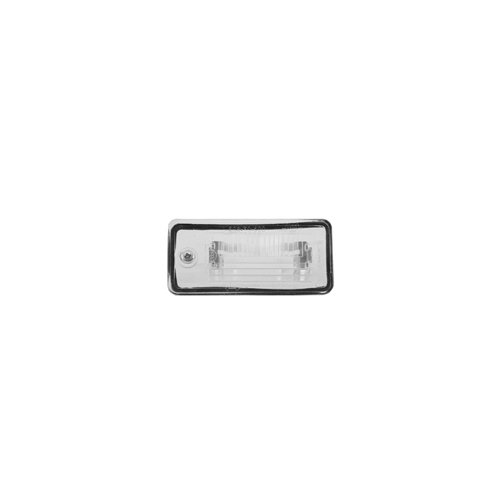 Van Wezel registration plate light, article no.: 325920