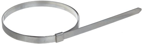 BAND-IT JS2209 Junior 1/4'' Wide x 0.020'' Thick, 2-1/2'' Diameter, 201 Stainless Steel Smooth I.D. Clamp (100 Per Box) by Band-It