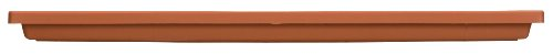 Akro Mils SVN18000E35 Tray for Venetian Flower Box, Clay Color, 18-Inch (Square Fluted Planter)