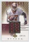 Cliff Russell #120/125 (Football Card) 2002 Upper Deck Graded - Rookie Game Jerseys - Gold #CR-500