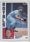 #10: George Brett (Baseball Card) 1984 Topps - [Base] #500