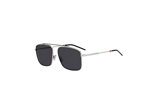 New Christian Dior Homme 0220S 0010/IR Palladium Sunglasses - New Dior Glasses