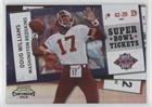 (Doug Williams #39/50 (Football Card) 2010 Playoff Contenders - Super Bowl Tickets - Black #42 )