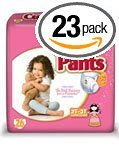 First Quality Cuties Refastenable Training Pants for Girls 3T-4T, up to 32-40 lbs.