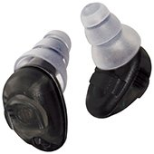 Etymotic HD15 Electronic Earplugs - High Definition Safety Hearing Protection, Black