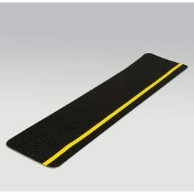 Gator Grip Cleat, Yellow/Black, 6''W x 24''L, 10/Pkg, SG3126BHV (SG3126BHV)