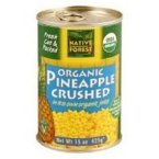 Native Forest Pineapple Organic Crushed, 14-Ounce (Pack of 6)
