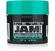 Lets Jam Condition & Shine Gel Regular Hold 4.4 Ounce Jar (130ml)