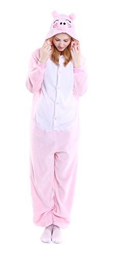 Unisex Adult Animal Cosplay Pajamas Sleepwear Onesies Costume