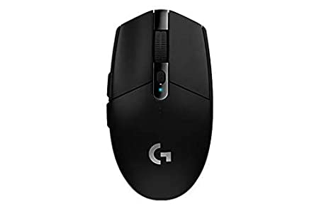 Logitech G304 Lightspeed Wireless Gaming Mouse (Black)