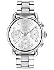COACH Womens Delancey Sport - 14502942 Silver White One Size