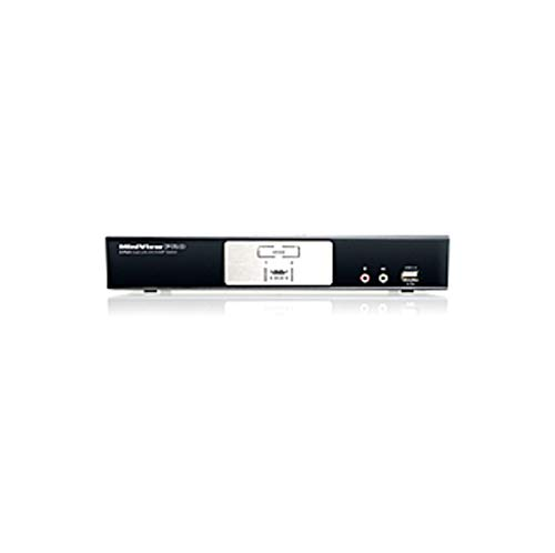 IOGEAR KVM Switch - 2 Computer(s) - 3200 x 2400-4 x USB - 3 x DVI (Certified Refurbished)