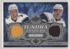 Drew Stafford; Daniel Paille #/50 (Hockey Card) 2008-09 Upper Deck Artifacts - Tundra Tandems Dual Jerseys - Silver - Ttp Shops