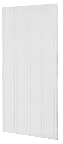Swanstone DP03696BB01.010 Solid Surface Glue-Up 1-piece Shower Wall Panel 0.25-in L X 36-in H X 96-in H White