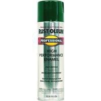 Rust-Oleum 7533838 Professional High Performance Enamel Spray Paint, 15 oz, Safety Green