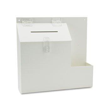 DEF79803 - Suggestion Box Literature Holder w/Locking Top
