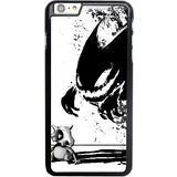 ZAE Made Phone Case with Free Screen Protector [Tempered Glass]Cubone Spectrum Cartoon Gastly Haunter Gengar Cover Black Case for iPhone 6 6S 4.7 inch.BBF-41979