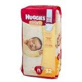 Huggies Little Snugglers Diapers, Newborn, 32 Count