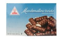 Joyva Marshmallow chocolate Covered Twists, 9 oz ()