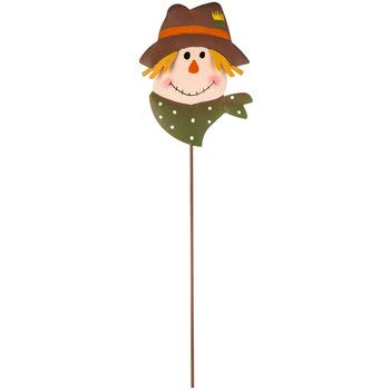 - Metal Scarecrow Fall Pick Stake 14 Inches