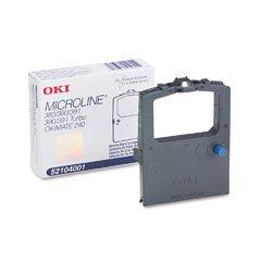 NEW Oki OEM Ribbon 52104001 (BLACK) (1 Ribbon) (Impact Printing Supplies) by Oki Data (Oki Printing)