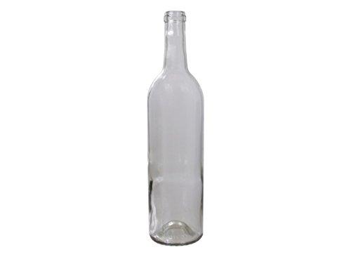 Wine Bottles (Clear) - 750ml Case of 12 ()
