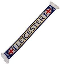 Leicester City FC Soccer Fan Scarf Premium Acrylic Knit