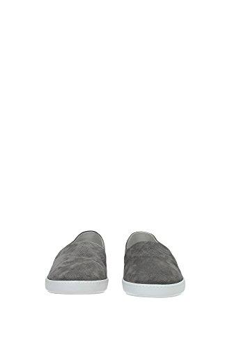 Slip On Armani Giorgio Uomo - (X2J040XC57100371) EU grigio