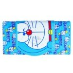 Doraemon Pattern Leather Hand Bag Purse/Wallet for Girl(Blue)