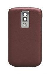 (BlackBerry Bold 9000 OEM Replacement Battery Door Back Cover - Dark Red (Certified)