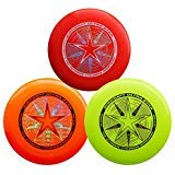Discraft 175g Ultimate Disc Bundle (3 Discs) Red, Yellow & Orange by Discraft