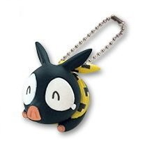 .com: Ranma 1/2 Deformed Figure Keychain - P-Chan Ver A: Toys & Games