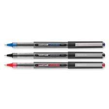 Rollerball Pen, Nonrefillable, 0.5 mm, Red Ink, 12/BX, Sold as 1 Dozen