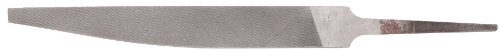 Nicholson Hand File, American Pattern, Double Cut, Knife, Medium, 8