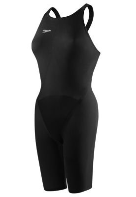 Speedo Lzr Racer Swimsuit - Speedo Women's LZR Elite 2 Comfort Strap Kneeskin Black 24 7R
