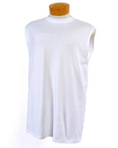 Jerzees 5.6 oz Cotton Sleeveless T-shirt 49M (XL / ()