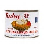 Ruby: Solid White Albacore Tuna 66 Oz (6 Pack Case)
