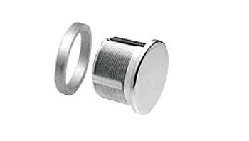 - C.R. LAURENCE DRA30PS CRL Polished Stainless Mortise Dummy Cylinder