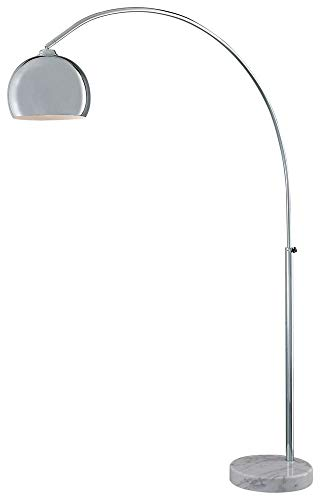 George Kovacs P053-077, George's Reading Room, Arc Floor Lamp, Chrome