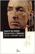 Ferran Valls i Taberner: jurista, historiador i polític (Perfils)
