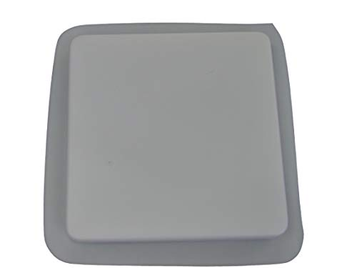10in Plain Smooth Square Stepping Stone Concrete Plaster Mold 2035 ()