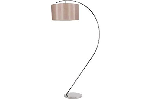 Heart of House Bourne Floor Lamp - Chrome and Mushroom.: Amazon.co ...