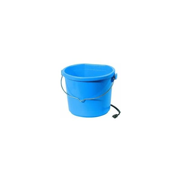 API Heated Bucket Heated Flat Back Bucket, 20 Quart (Item No. 20FB) 1