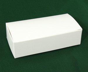 One-Piece 1/4 lb. Candy Box White 4 1/2