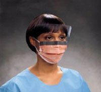PT# 146 Mask Face FluidShield With Visor Blue Anti-Fog EarLoop LF 25/Bx by, Kimberly Clark Healthcare by The Kimberly Clark Healthcare Incorporated