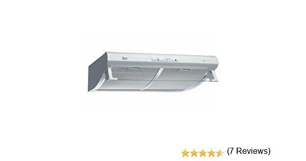 Teka C 620/610 Classic - Campana (Canalizado/Recirculación, 373 m³/h, Semi built-in (pull out), Color blanco, Giratorio, Metal): Amazon.es: Grandes electrodomésticos