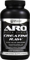 ARO-Vitacost Black Series Creatine RAW -- 2250 mg - 300 Capsules by ARO-Vitacost