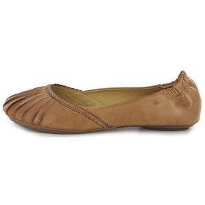 Chocolat Blu Carissa Ballet Flat Womens Shoes CARISSA-CAMELLEATHER Camel 9 M US by Chocolat Blu