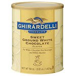 - Sweet Ground White Chocolate Flavor Mix - 3 lbs